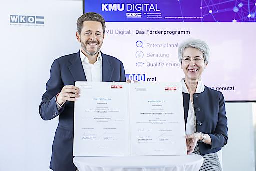 KMU DIGITAL Pressekonferenz zur Programmverlängerung