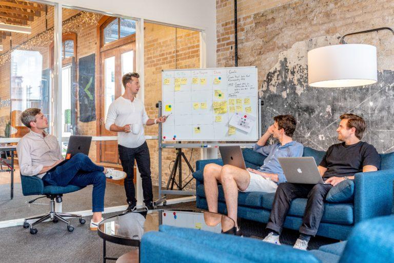 Diskussion von Ideen